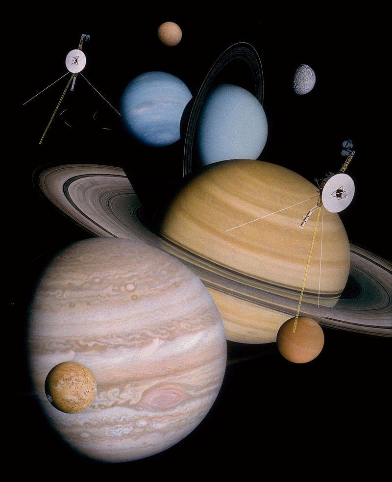 Reis door het zonnestelsel
