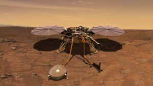 InSight landt op Mars
