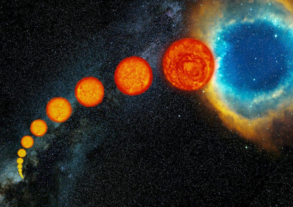 De levensloop van sterren