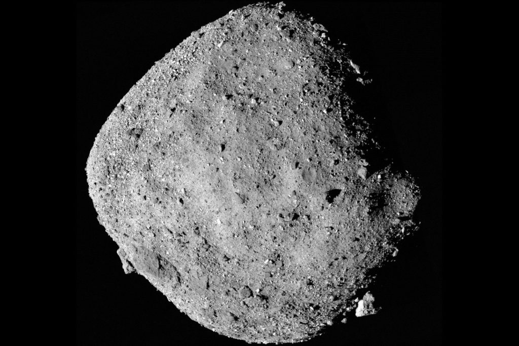 Planetoïden van dichtbij bekeken