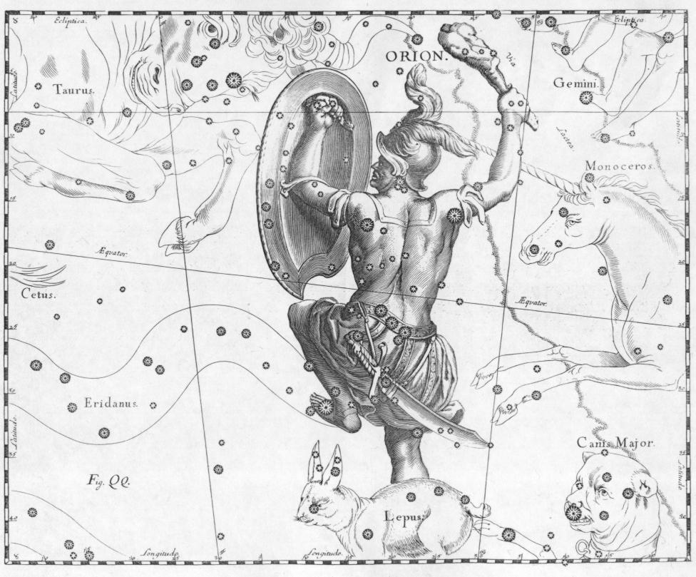 De sterrenbeelden en hun verhalen