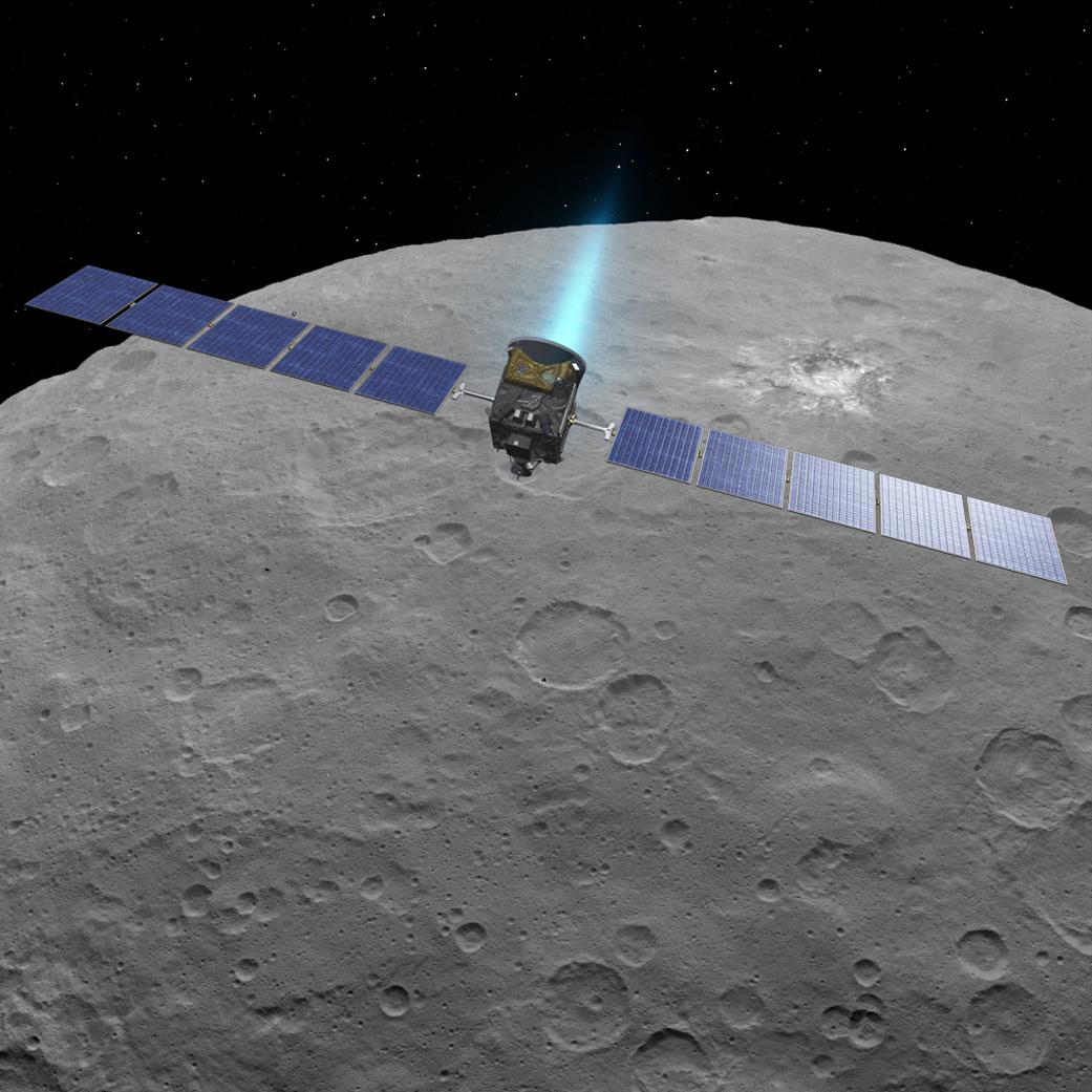 LIVESTREAM! De dwergplaneet Ceres