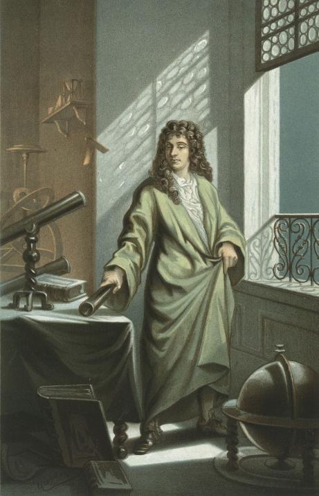 LIVESTREAM!  Christiaan Huygens