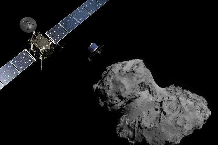 Rosetta en 67P