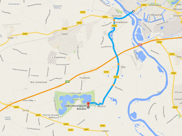 Route Deventer Bussloo