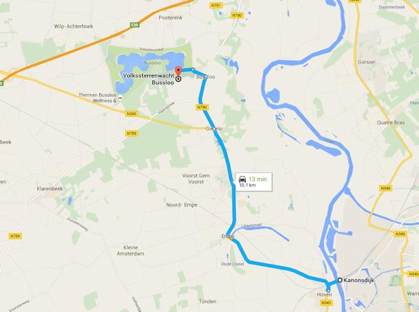 Route Zutphen Bussloo