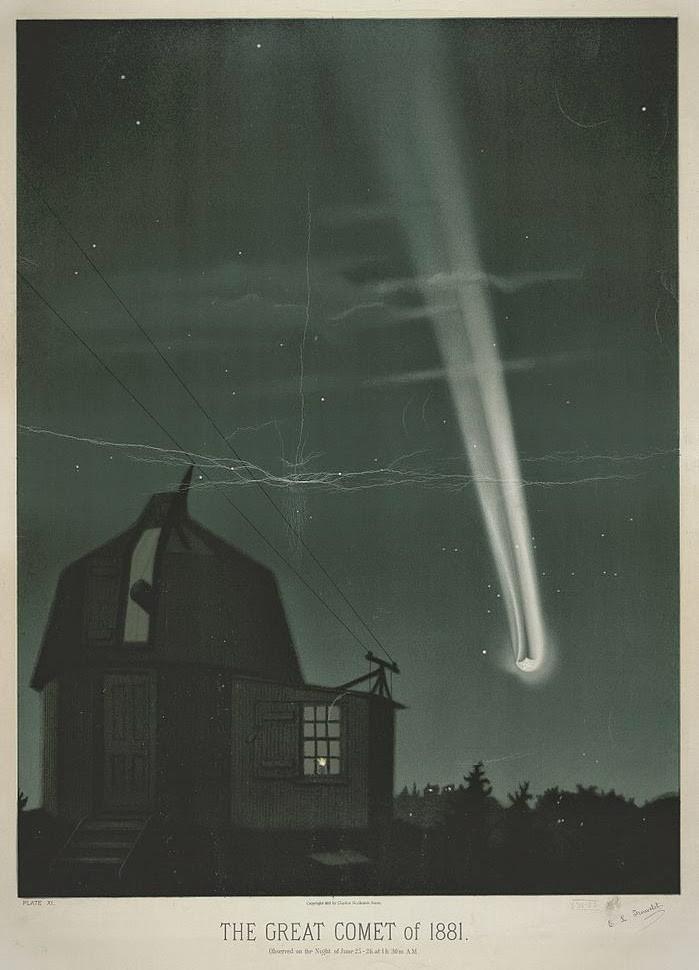 LIVESTREAM!  Komeetontdekkingen door de eeuwen heen