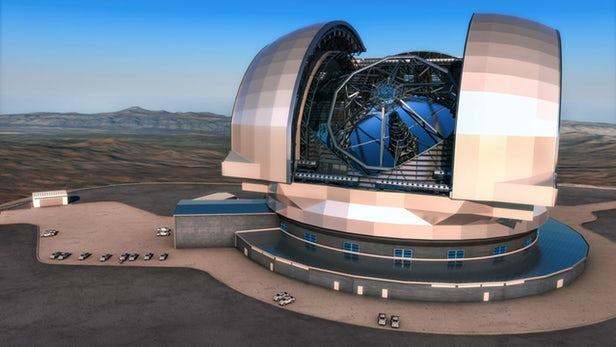 Telescopen: groot, groter, grootst