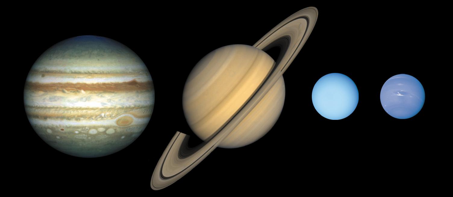 Zonnestelsel-gasplaneten