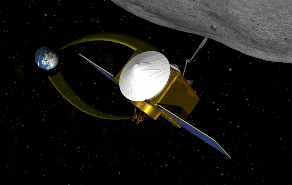 2019: maanprojecten en andere verkenners in ons zonnestelsel